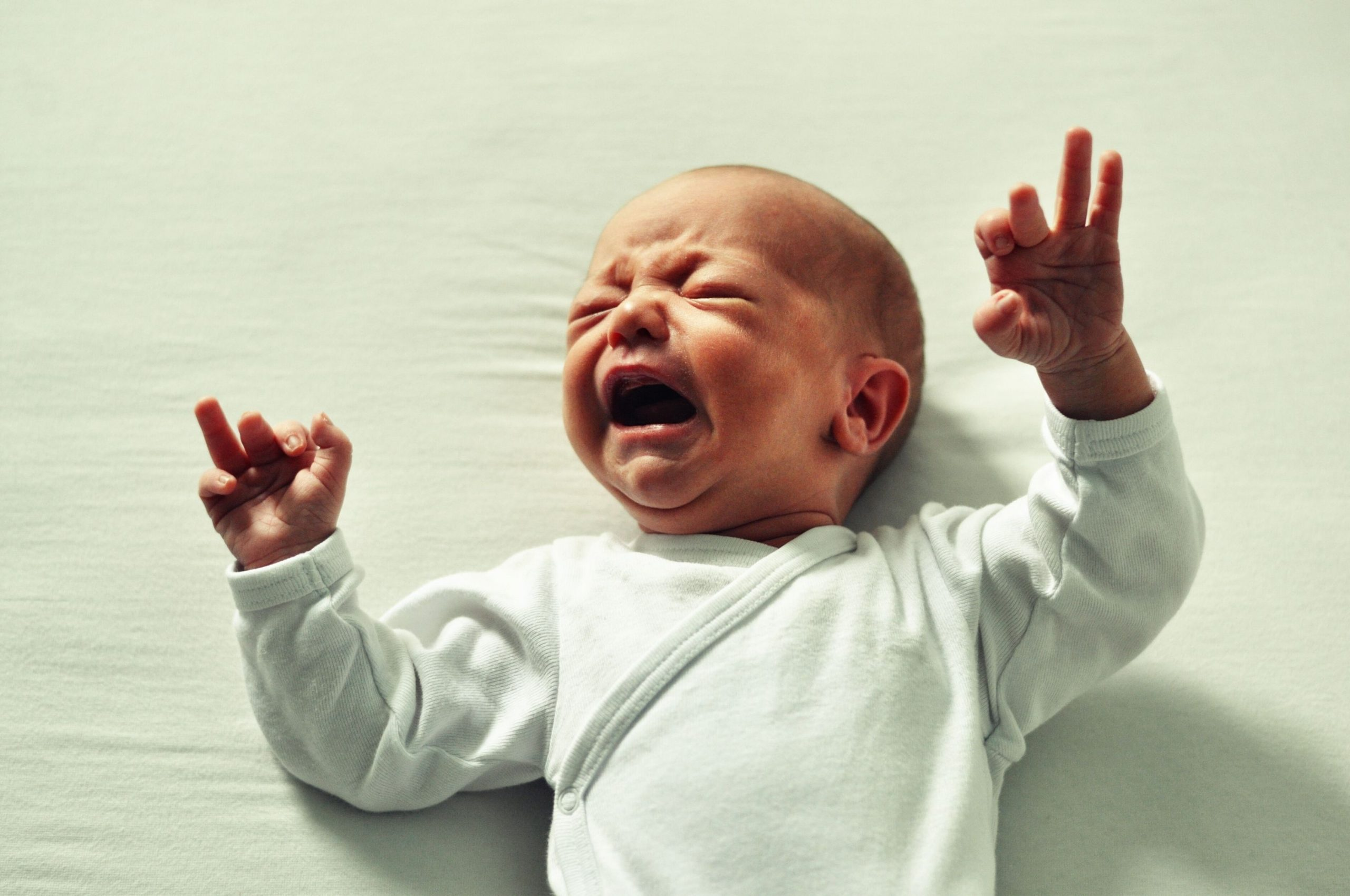 Leaving babies to cry is cruel